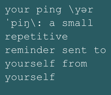 Your Ping